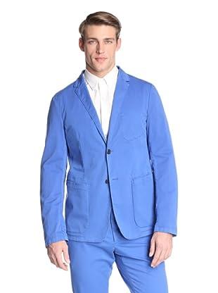 Jil Sander Men's Auroroa Deconstructed Single Jacket (Electric Blue)