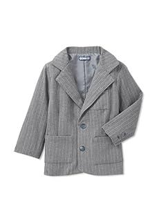 Velvet & Tweed Boy's Pinstripe Jacket (Grey)