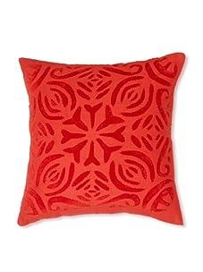 """AKMD 16""""x 16"""" Throw Pillow (Deep Red)"""
