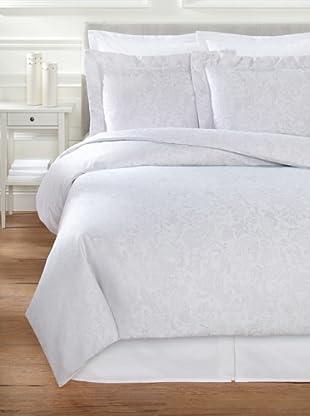 Belle Époque Jacquard Paisley Mini Duvet Set (Grey)