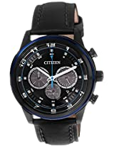 Citizen Eco-Drive Analog Black Dial Men's Watch - CA4036-03E