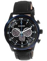 Citizen Eco-Drive Analog Black Dial Men's Watch - CA4036-03E