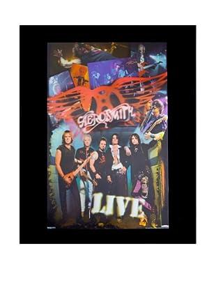 Aerosmith Live Framed 3-D Hologram Poster