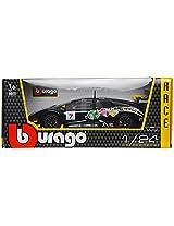 Bburago Lamborghini Murcielago GT Bburago Scale-1:24 Die Cast Toy Car (Black)