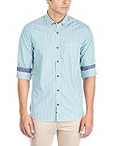 Geoffrey Beene Men's Cotton Casual Shirt