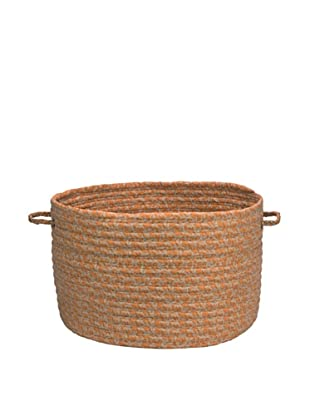 Colonial Mills Solid Fabric Print Basket (Rust)