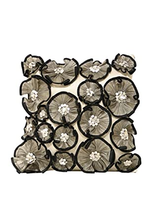 Ruffled Flowers Pillow