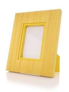 """Terragrafics Riviera 4"""" x 6"""" Picture Frame (Yellow)"""