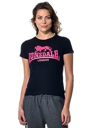 Lonsdale T-shirt Lysann (Nero)