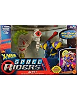 Marvel Comics X-Men Space Riders Beast & Motorized Deep-Space Cosmic Blaster Action Figure
