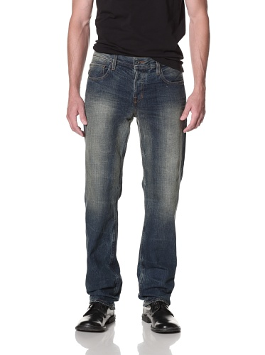 Kill City Men's Straight Garage Fit Jean (Blue)