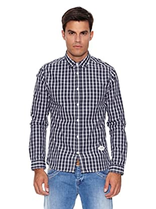 Pepe Jeans London Camisa Enterprise (Azul / Blanco)