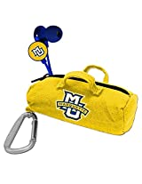 NCAA Marquette Golden Eagles Scorch Earbuds with Bud Bag