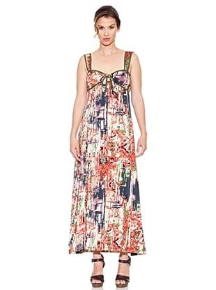 Mahal Vestido de Tiras (Multicolor)