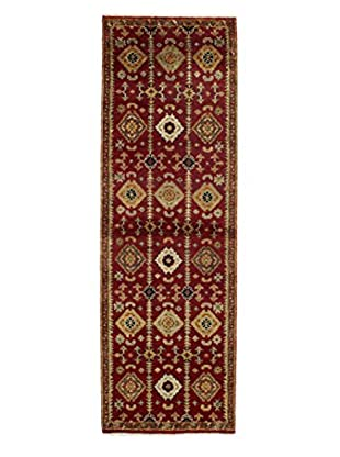 Bashian Rugs One-of-a-Kind Hand Knotted Indo-Oushak Rug, Red, 2' 7