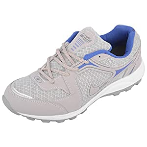 ASIAN Grey Blue Men's Bullet-13 Running Shoes