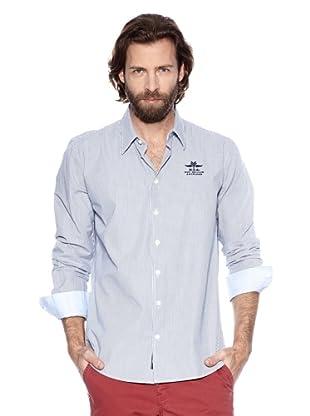 NZA New Zealand Auckland Camisa Básica Heraclea Síntica (Azul Claro)