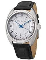 Stuhrling Original Symphony Analog Silver Dial Men's Watch - 728.01