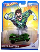 2012 Hot Wheels DC Universe GREEN LANTERN 1:64 Scale Collectible Die Cast Car