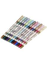 12 Ultra Bright Color Eyeshadow Lip Liner Eye Shadow Eyeliner Pencil Pen Cosmetic Makeup Set!!!