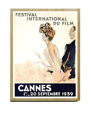 Artehouse Cannes Festival Bamboo Wood Sign