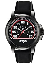 Maxima Ego Analog Dial Men's Watch (Black)