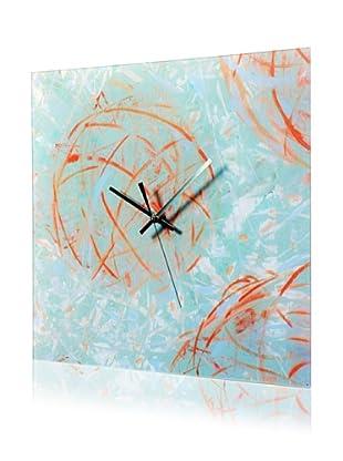 HangTime Designs Reoccurring Dreams Wall Clock, Blue