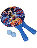 Disney DJE26081 Mickey Plastic Beach Racket Set, Kid's (Blue)