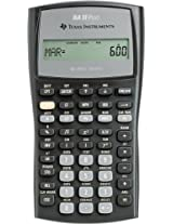 BAIIPlus Financial Calculator, 10-Digit LCD by TEXAS INSTRUMENTS (Catalog Category: Office Equipment & Equipment Supplies / Calculators)