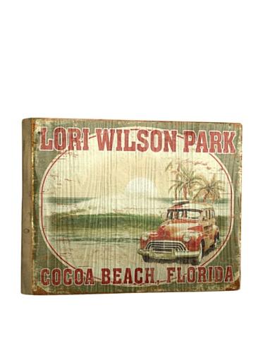 Artehouse Lori Wilson Park Reclaimed Wood Sign, 12