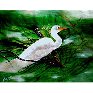 NUCreations Am I Really Free To Fly - Original Painting - Oil Paint On Canvas