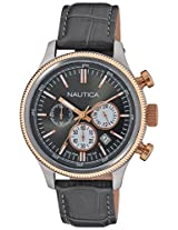 Nautica Chronograph Grey Dial Men's Watch  - NTA21031G