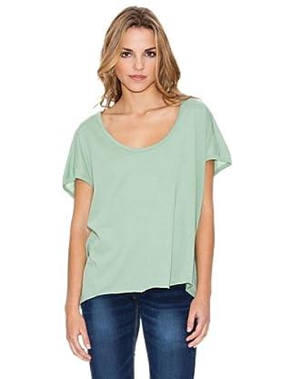 Timeout Camiseta Lisa (Verde Agua)