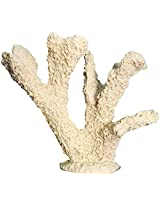 Taiyo Pluss Discovery Finger Coral Light Yellow Aquarium Décor, 13.97 cm x 6.35 cm