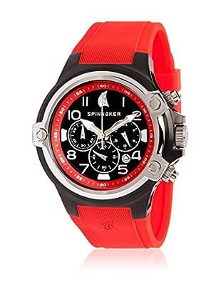 Spinnaker Uhr mit japanischem Quarzuhrwerk Forestay rot 46 mm