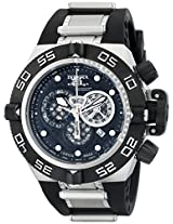 Invicta Men's 6564 Subaqua Noma IV Chronograph Black Dial Black Polyurethane Watch