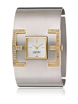 Esprit Orologio al Quarzo Woman E-Motion Silver-Gold 35 mm