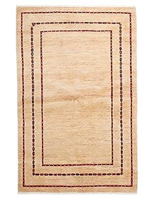 Darya Rugs Modern Oriental Rug, Light Beige, 4' 1