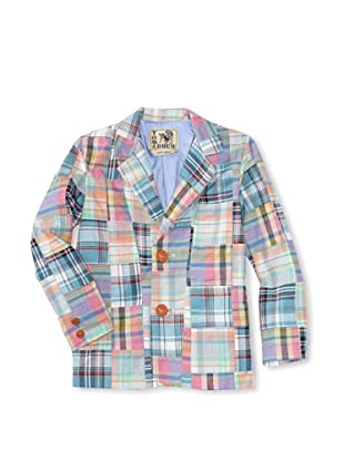 Tom and Drew Boy's Blazer (Pastel Madras)