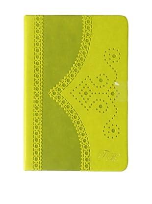 Ted Baker Green Small Brogue Notebook