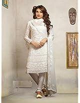 1472_Latest White Karachhi Salwar Suit