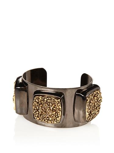 Paige Novick Sloan Cuff Bracelet, Gunmetal/Antique Gold