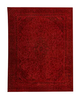 Design Community by Loomier Alfombra Revive Vintage Burdeos 269 x 346 cm