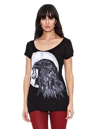 Heartless Jeans Camiseta Sara Tshirtblack (Negro)