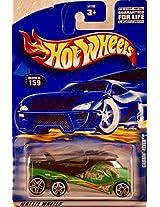 Mattel Hot Wheels 2001 Treasure Hunt 1:64 Scale White Cabbin fever 12/12 Die Cast Car #012