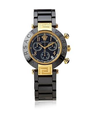 Versace Women's 95CCP9D008 SC09 Reve Black Dial Chronograph Black Ceramic Bracelet Watch