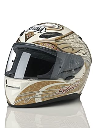 Shoei Casco Xr 1100 Gráfica (Blanco / Dorado)