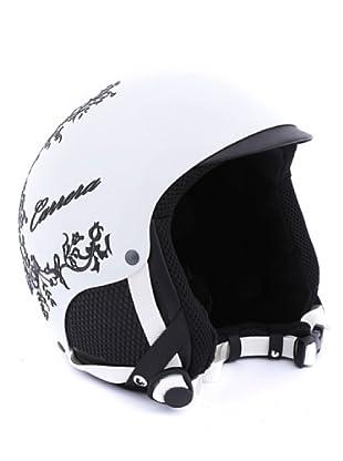 Carrera Casco de Esquí CA E00408 PERLA ACT WHITE SHINY LACE (blanco/negro)