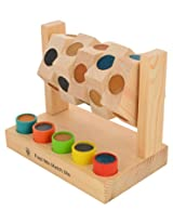 Skillofun Wooden Feel Me Match Me, Multi Color