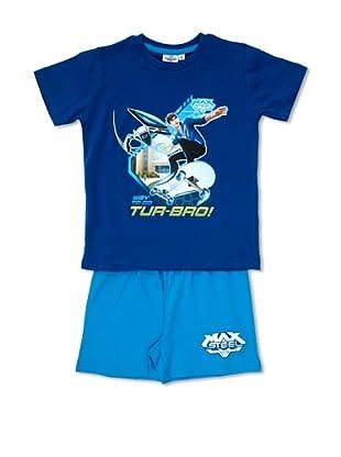 Licencias Pijama Max Steel (Turquesa / Azul)